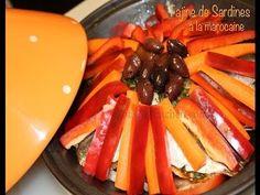 Recette de Tajine:Tajine de sardines à la marocaine/Moroccan Sardines Tagine - YouTube