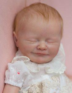 ADOREABLE REBORN BABY GIRL~URIEL BY PRISCILLA LOPEZ~MICRO ROOTED HAIR~NR~SALE Rebornpuppen & Zubehör Künstler- & handgemachte Puppen
