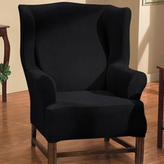 Caber Surefit Victoria black chair cover