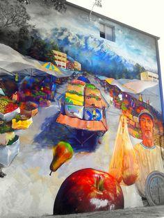 Street Art Museo a Cielo Abierto in Chile, Santiago, San Miguel 13