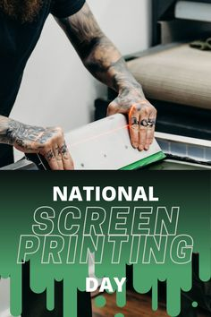 Happy National Screen Printing Day! Whether you enjoy screen printing as a hobby, or are starting a small business, Ryonet offers a full line of tabletop Screen Printing Starter Kits in variety of sizes, types, and prices. #ryonet #poweringtheprint Diy Screen Printing Kit, Make Your Own Tshirt, Creative Christmas Gifts, Wooden Screen, Print Packaging, Diy Kits, Tabletop, Business, Table