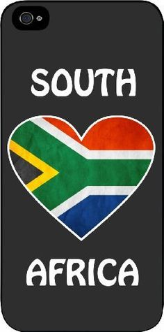 A South African Flag iPhone Case Iphone 4, Apple Iphone, Iphone Cases, South African Flag, National Symbols, Port Elizabeth, Cool Cases, Flag Design, My Land