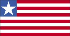 Country Flags: Liberia Flag