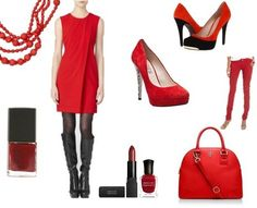 What are you wearing for National Wear Red Day? Here are some idea!