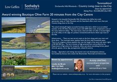 Award winning Boutique farm for sale.