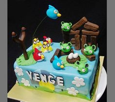 TecnoTotal: 10 Tortas Angry Cool y Aves Creativo