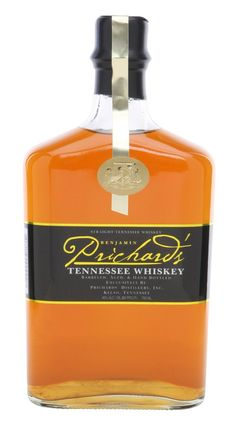 Prichard's Tennessee #Whiskey is distilled in the style of the traditional Tennessee whiskeys. Our Original #Tennessee Whiskey is made using similar pot still production techniques, like Granddaddy Benjamin used back in the early 1800's, and white corn milled for us by the historic Falls Mill (www.fallsmill.com) in nearby Old Salem, Tennessee. The resulting smooth whiskey is full of rich, bold character. Tennessee Whiskey, Bourbon Whiskey, Whisky, Bottle Labels, Vodka Bottle, Alcoholic Drinks, Cocktails, Pot Still, Absolut Vodka