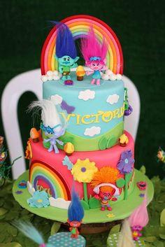Trolls Birthday Party Ideas | Photo 12 of 13