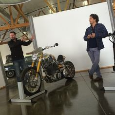 Starting the day with a pre-ride intro to the #KRGT1 with Arch Motorcycles' Keanu Reev... | Use Instagram online! Websta is the Best Instagram Web Viewer!