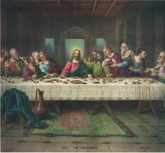The Last Supper. Made by Leonardo Da Vinci. This shows hows the people are acting. which is a rennaissance traite.