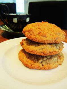 Stem Ginger and Macadamia Nut Biscuits