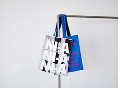 NN-A visual identity and tote bags designed by Zak Group.