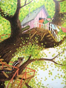Gyo Fujikawa - I had this book as a child.  It was my absolute favourite.  The illustrations are magical.