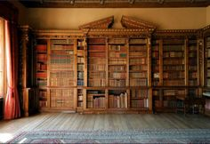 Library @ Downton Abbey
