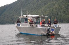 A fast modern Alaskan fishing vessel with 24 knot cruise, heated cabin and walk around bow, has lots of room for six fishermen to catch salmon, halibut, lingcod and rockfish and enjoy the southeast Alaska wilderness. Alaska Fishing Lodges, Alaska Salmon Fishing, Halibut Fishing, Going Fishing, Best Fishing, Fishing Boats, Fishing Tips, Alaska Homestead, Kenai River