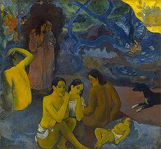 D'où venons-nous ? Que sommes-nous ? Où allons-nous ? 1897, Paul Gauguin, Boston
