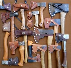Leather axe sheath inspiration