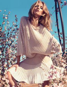 Anna Selezneva/ Blumarine Spring 2013 Campaign by Camilla Akrans