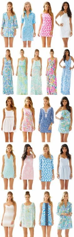 Lilly Pulitzer, just go ahead and take all of my money! The new summer collection is absolute perfection!