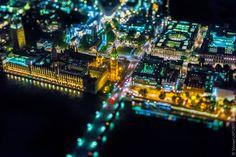 Parece una maqueta, pero es Londres desde el aire (FOTOS)