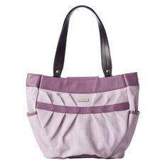 Emilye: ($34.95) Two shades of lilac boldly take center stage in the Emilye for Demi Bags. The effect is gloriously feminine as well as young and fresh.