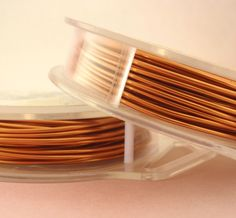 Non Tarnish Copper Artistic Wire - Permanently Colored - You Pick Gauge 10, 12, 14, 16, 18, 20, 22, 24, 26, 28, 30, 32, 34 – 100% Guarantee  Ask a Question $5.15 USD. USA