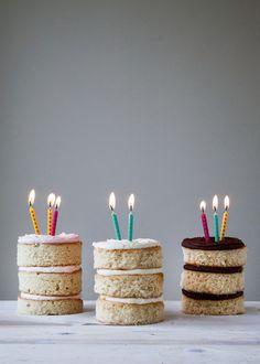 #Neapolitan #Mini #Cakes !