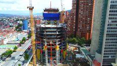 Así va Construcción De Las  Torres Atrio noviembre [Bogotá Colombia 2017]