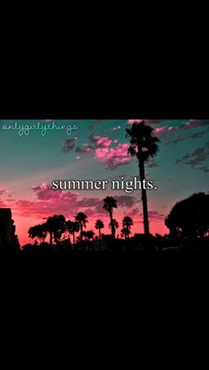 Summer forever quote