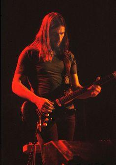 David Gilmour konserde . Pink Floyd