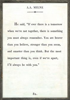 Art Print - A.A. Milne A perfect mix between vintage and contemporary, these Book Collections Art Prints are hand framed in reclaimed wood. Each print is available in White, Cream, and Charcoal with G