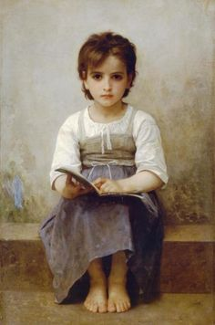 William Bouguereau - La lecon difficile
