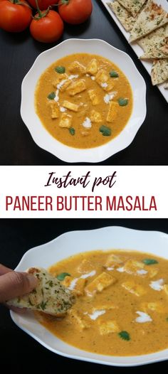 Delicious and very easy to make Paneer Butter Masala in the instant pot | Paneer Makhani | Indian Recipes | #indian #curry #instantpot #pressurecooker #vegetarian #glutenfree #pipingpotcurry #paneer | pipingpotcurry.com