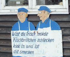 Fischbrötchen, Flensburg - Foto. S. Hopp