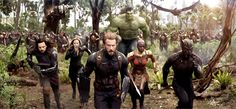 AVENGERS: INFINITY WAR: Earth's Mightiest Heroes Take The Fight To Thanos In Mind-Blowing First Trailer