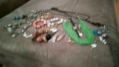 49 piece Jewelry Lot, Hobe, Yurman like, cameos, j crew, Dior, gvny, Benrus #Unbranded Benrus Watch, Clarice Cliff, Coventry, Clip On Earrings, Brooches, Costume Jewelry, J Crew, Plate, Beaded Bracelets