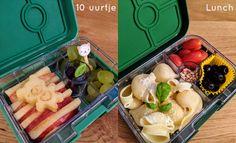 10uurtje en lunch. Ideale gezonde schoollunch, Bentostyle met de Yumbox.