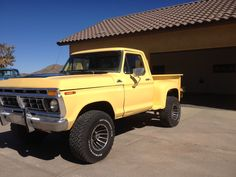Jeep Cj7, Old Fords, Cool Trucks, Hot Rods, Monster Trucks, Wheels, Bicycle, Cars, Yellow