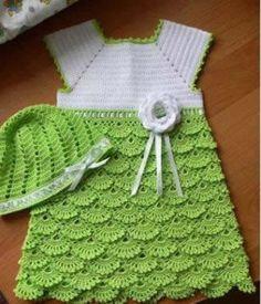 Ideas para el hogar: 6 Vestidos de bebé