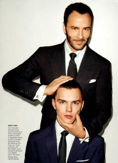Tom Ford & Nicholas Hoult - A single man Tom, yes, not sure about Nicholas