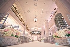 The Statler Ballroom at St Louis Renaissance Grand Hotel. Wedding Blog|SwitzerWorld