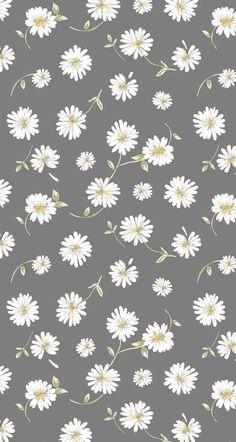 Daisy Wallpaper, Iphone Wallpaper Vsco, Flower Phone Wallpaper, Cute Patterns Wallpaper, Homescreen Wallpaper, Iphone Background Wallpaper, Aesthetic Pastel Wallpaper, Trendy Wallpaper, Cartoon Wallpaper