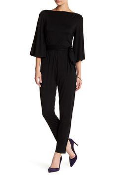 Rachel Pally - Boatneck Back Keyhole Jumpsuit is now 53% off. Free Shipping on orders over $100.