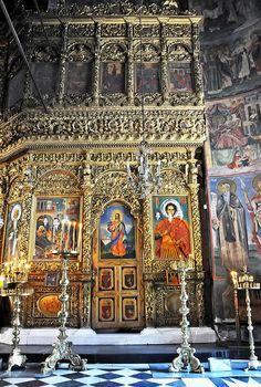 Rila Monastery, Bulgaria - Gold-plated Iconostasis | Flickr - Photo Sharing!