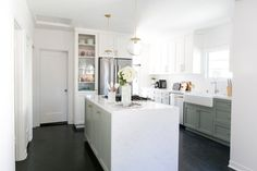Exclusive Photos: Our CEOs Home Tour + Your Chance To Win a Total Living Room Makeover! Kitchen Dining, Kitchen Decor, Kitchen Ideas, Ikea Kitchen, Home Renovation Companies, Discount Kitchen Cabinets, Spanish Style Homes, House Tours, Home Kitchens
