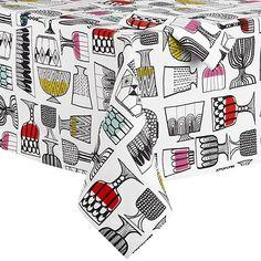 Marimekko Kippis Tablecloth and Napkin in New | Crate and Barrel
