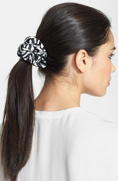 Scrunchies are back!!  L. Erickson 'Medium' Silk Scrunchie available at #Nordstrom