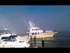 Close Call for $2,000,000+ Yaht in Dana Point Harbor Tsunami