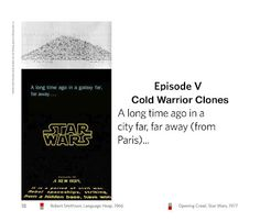 Below are the slides for the second of a three-part, art history lecture on Star Wars and American Cold War Modernism I gave via. Episode Iv, Star Wars Film, Long Time Ago, 8 Bit, Modernism, Cold War, Art History, Texts, Archive