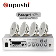 Oupushi Bluetooth Home Background Music System MP3 Player 50W USB Amplifier With 6 Inch / 8 Inch Ceiling Speakers  Price: 2652.26 & FREE Shipping #computers #shopping #electronics #home #garden #LED #mobiles #rc #security #toys #bargain #coolstuff |#headphones #bluetooth #gifts #xmas #happybirthday #fun
